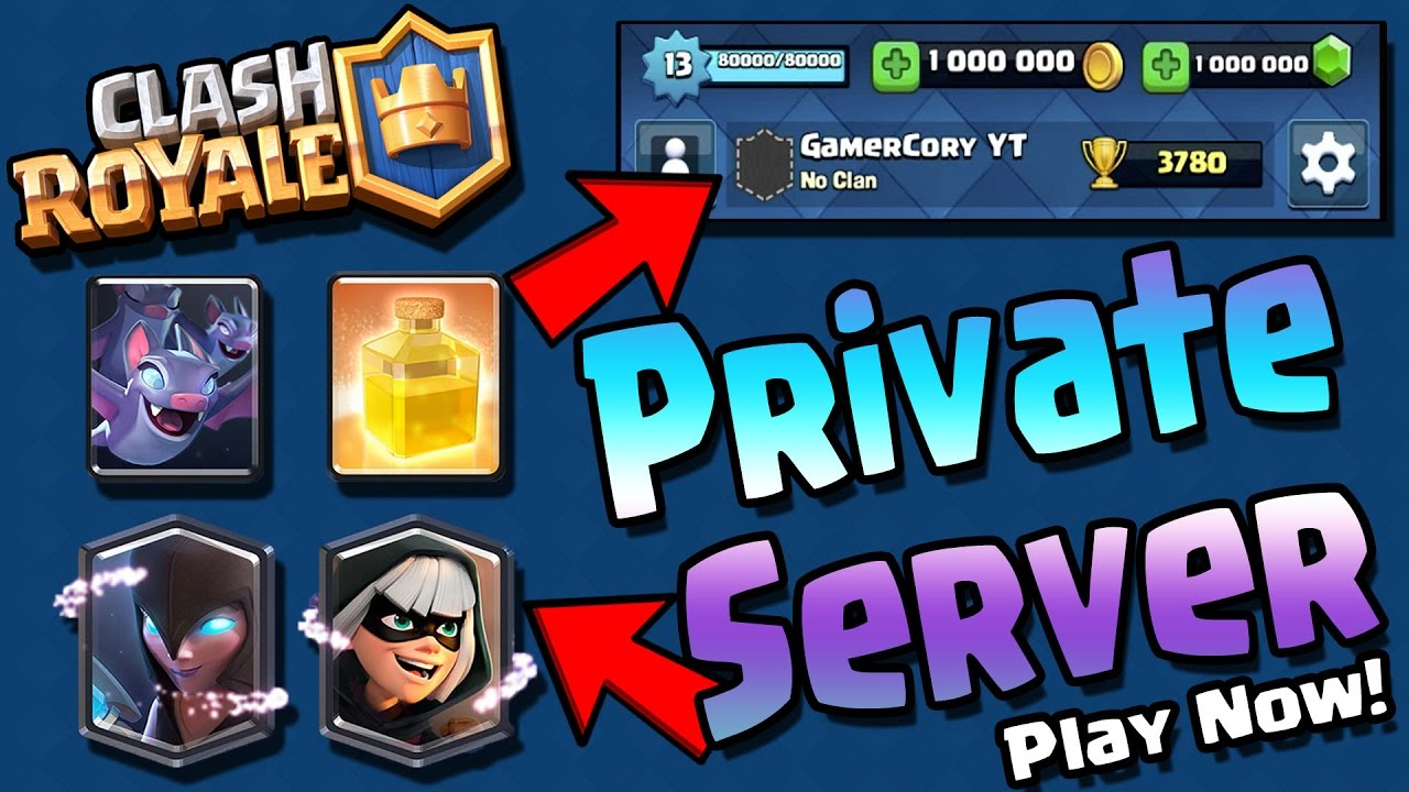 clash royale private server 2017 download free