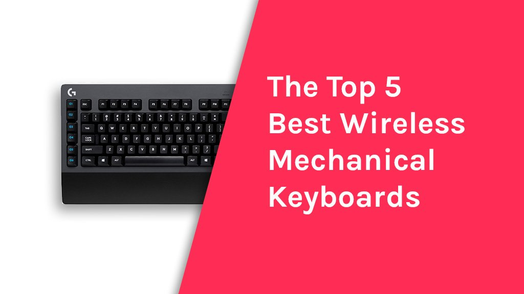 top 5 best wireless mechanical keyboards rankcoon. Black Bedroom Furniture Sets. Home Design Ideas