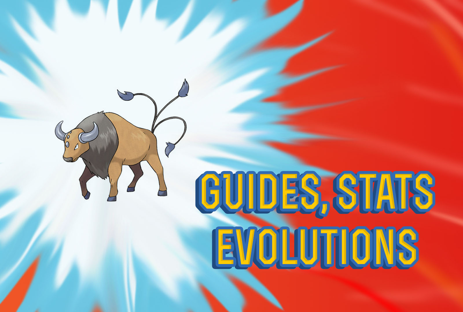 Pokemon Let's Go: Tauros - Guide, Stats, Locations ...