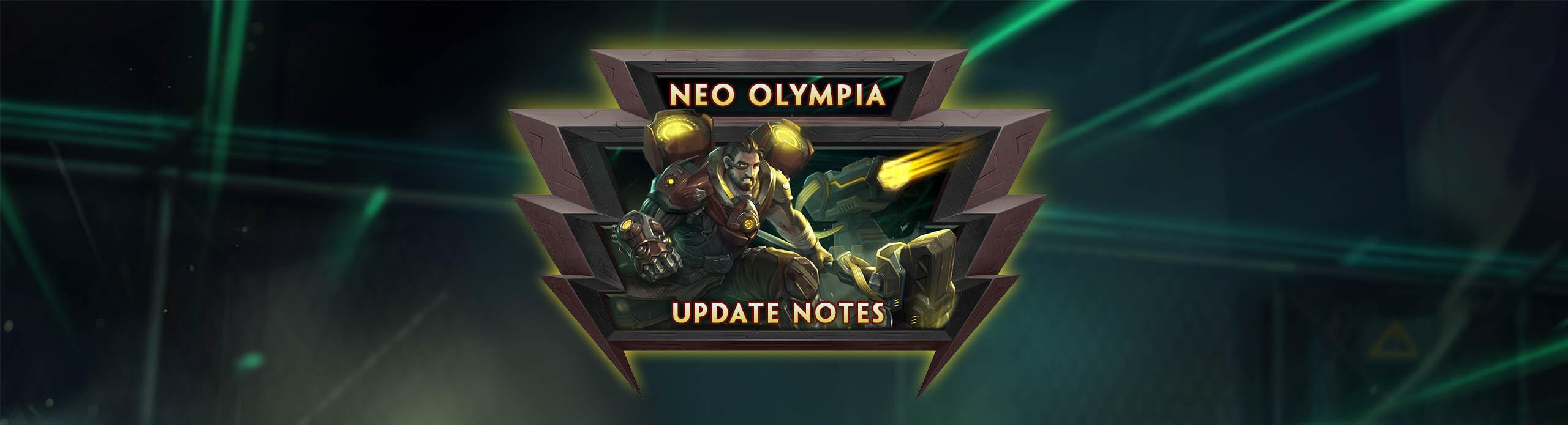 Smite Season 6 Patch 6 6 Neo Olympia Rankcoon